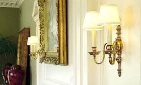 impressive brass wall sconces electric in candle sconce ataa