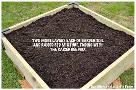 Raised Bed Soil Calculator by Raised Garden Bed Soil Home Design Ideas And Pictures