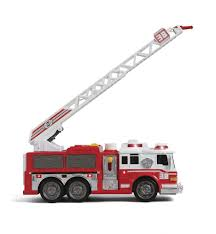 Fast Lane Light And Sound Vehicle - Fire Truck - Toys
