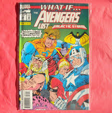 Marvel Comics What If Avengers Lost Operation Galactic Storm 56 1993