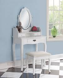 Wayfair Dresser With Mirror by Alcott Hill Emmett Ribbon Wood Makeup Vanity Set With Mirror