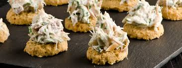 pate canapes arbroath smokie pate oatcake canapes
