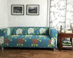 slip cover for the ikea klippan 4 seat sofa luxury shimmer