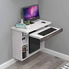 zxyy computer schreibtisch wandregal für schlafzimmer