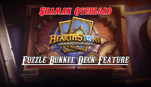 hearthstone shaman overload deck youtube