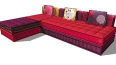 canapé cancun maison du monde furn seat modular furniture 3d warehouse