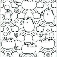 Kawaii To Download Kids Coloring Pages
