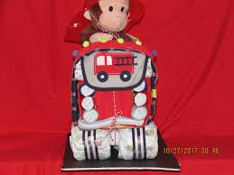 Curious George Diaper Fire Truck - Nanascreativecrafts Fire Truck Baby Shower The Queen Of Showers Journey Parenthood Firetruck Party Decorations Diaper Cakes Diapering General Information Archives Gifts Singapore Awesome How Do You Make For Monster Bedding Sets Bedroom Bunk Bed Boy Firetruckdalmation Cakebaby