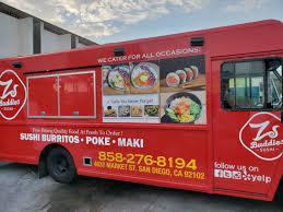Zs Buddies Sushi Burritos - San Diego Food Trucks - Roaming Hunger