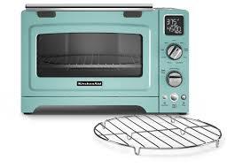 Amazon KitchenAid KCO275AQ Convection 1800 Watt Digital Countertop Oven 12 Inch Aqua Sky Kitchen Dining