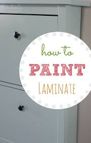 Laminate Cabinets Peeling by Best 25 Paint Laminate Cabinets Ideas On Pinterest Painting