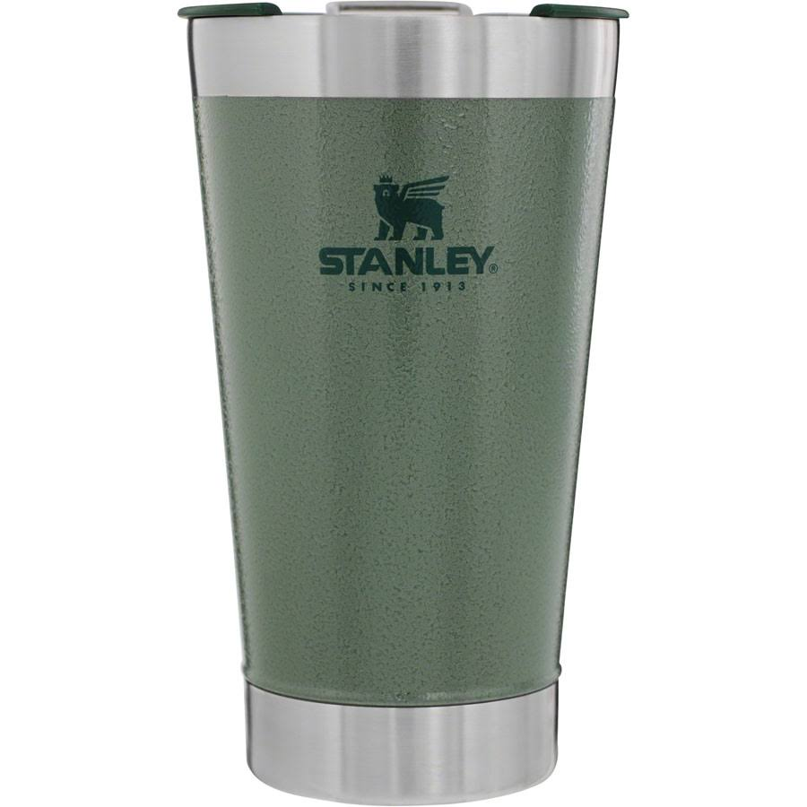 Stanley Classic Vacuum Pint Glass - Hammertone Green, 16oz