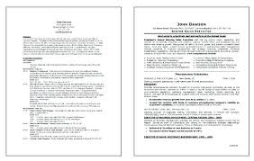 Sample Executive Resume Sales Examples Simple Good For