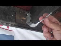 installing a joist hanger youtube
