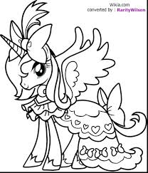 Unicorn Coloring Pages Printable Free Cute Pony Princess Page To Print