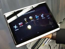 CES 2014 Audi Android tablet is designed for car use