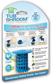 Bathtub Drain Strainer Body by Tubshroom Revolutionary Hair Catcher Drain Protector For Tub