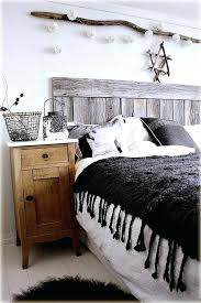 Rustic Decor Bedroom Weathered Wood Planks Are A Perfect Materials For Pieces Like Headboards