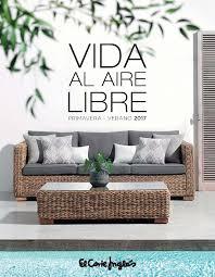 Muebles de jardn El Corte Inglés catálogo 2017