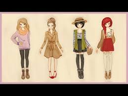 Ket Qua Tim Kiem How To Draw Winter Cute Girl Outfit Tai