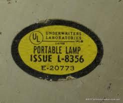 underwriters laboratories l vintage underwriters laboratories