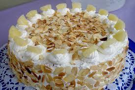 ananas sahne torte kuzu chefkoch rezept kuchen