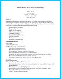 Objective For A Medical Assistant Resumes Sample Resume Of
