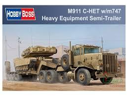 100 Het Military Truck Hobby Boss 135 M911 CHET M747 SemiTrailer Model Kit 85519