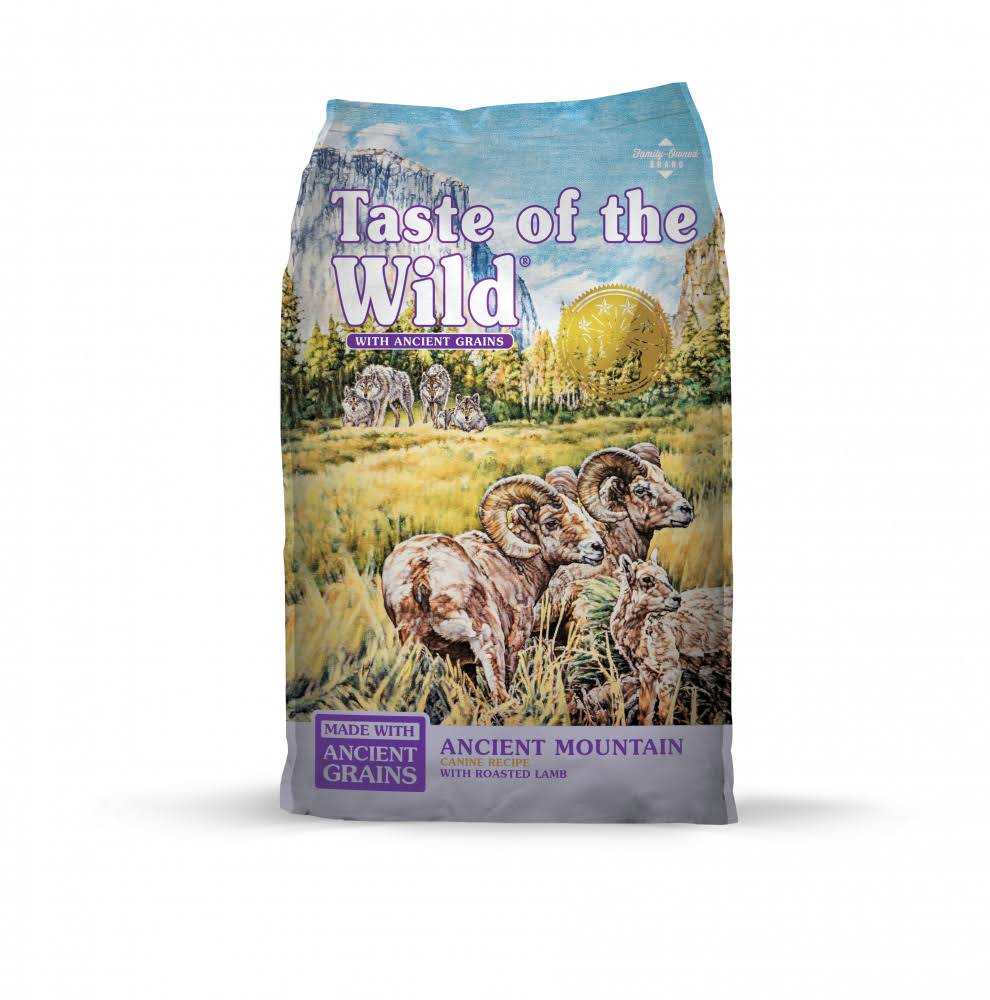 Taste of The Wild Ancient Mountain with Ancient Grains Dry Dog Food - 14 lb Bag