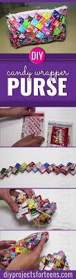 Ridiculously Cute DIY Candy Wrapper Purse