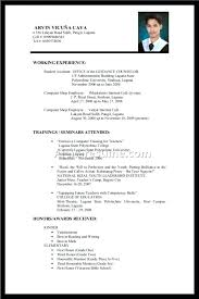 Computer Science Internship Resume Examples Example For Magnificent College Students Sample Student Little Work Experience Template