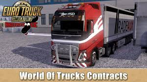 100 World Of Trucks Euro Truck Simulator 2 Contracts YouTube