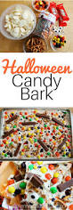 Halloween Candy Dish by Halloween Candy Bark Super Easy Super Fun