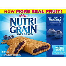 Nutri Grain Blueberry Soft Baked Cereal Bars