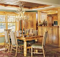 Rustic Dining Room Decorations by Rustic Dining Room Lighting Ideas Home Interiors