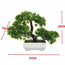 bonsai künstliche pflanze fälschung blume zuhause wohnzimmer