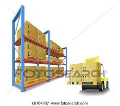 Clip Art Of Storage Equipment K6104937