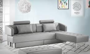 grand canapé multifonction 5 places avec pouf 2 en 1 livraison