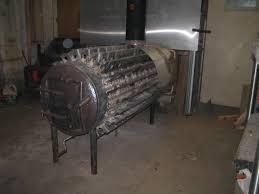 steel building shop garage heating suggestions wood burning