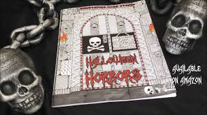 Halloween Coloring Books For Adults by Brand New Coloring Book 2016 Halloween Horrors Halloween