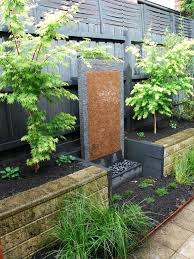 Water Wall Gardening Brilliant Garden Design Ideas Feature Designs