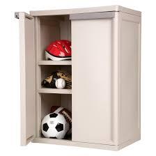 sterilite 2 shelf garage or utility storage cabinet flat gray