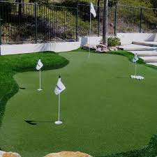 Discovery Bay CA Backyard Synthetic Grass Before After