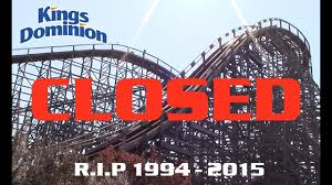 Kings Dominion Halloween Dates by Hurler At Kings Dominion Will Never Reopen Youtube