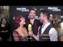 Andy Grammer Sharna Burgess Dancing With The Stars Season 21 Week 5 I AfterBuzz TV Interview