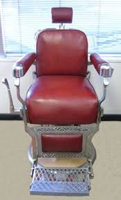 1958 vintage koken president barber chair with headrest we freight