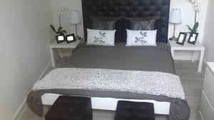chambre blanche et chambre blanche et grise