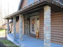 Columns On Front Porch by Porch Column Ideas Accentuate Your Home U0027s Front Exterior