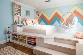 Children Bedroom Ideas Small Spaces Nice On Pertaining To 21 Creative Accent Wall For Trendy Kids Bedrooms 20