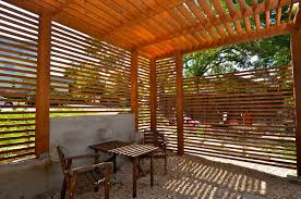 Patio privacy screen ideas exterior modern with privacy screening